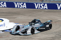Nico Rosberg, Formula 1 World Champion, Formula E investor, drives the Formula E track car