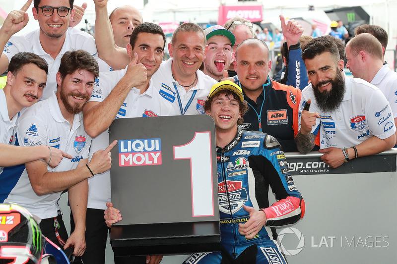 Race winner Marco Bezzecchi, Prustel GP