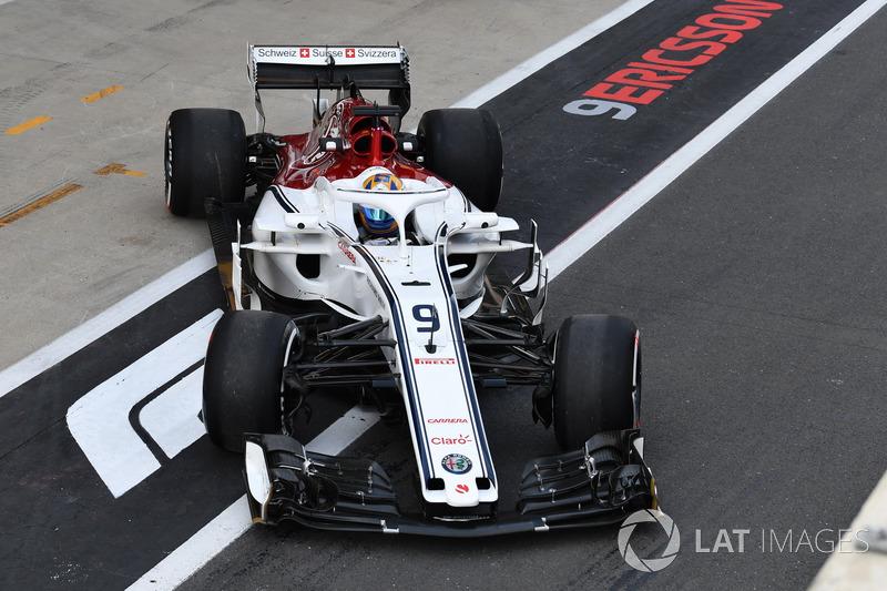 15. Маркус Ерікссон, Sauber C37