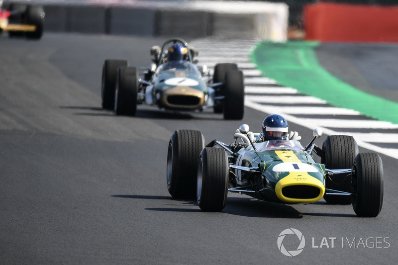 Lotus 43 at Silverstone 70th Anniversary Parade