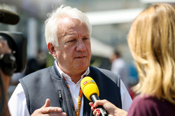 Делегат FIA Чарлі Вайтінг