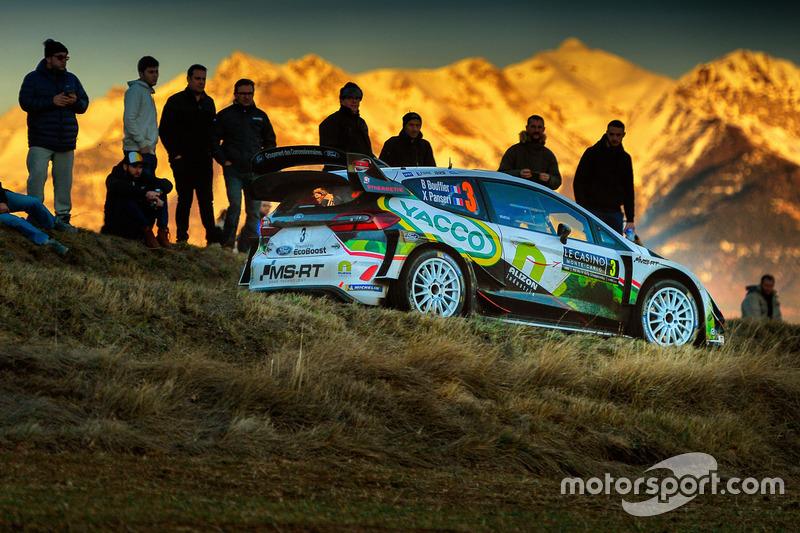 Bryan Bouffier, Xavier Panseri, Ford Fiesta WRC, M-Sport Ford