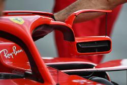 Зеркало заднего вида Ferrari SF71H на Halo