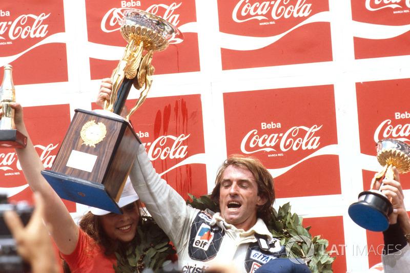 Ganador del GP de Brasil 1979: Jacques Laffite, Ligier