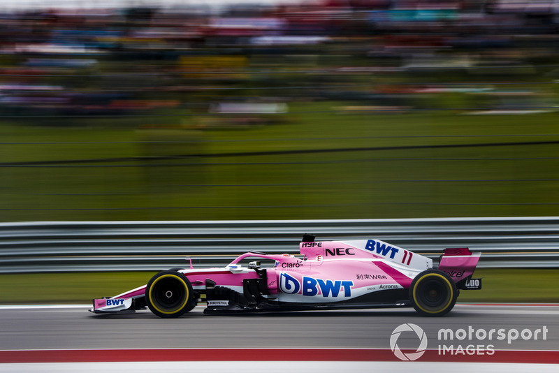 10º Sergio Perez, Racing Point Force India VJM11