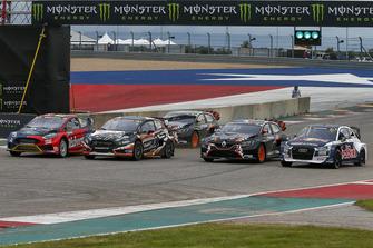 Kevin Eriksson, Olsbergs MSE, Janis Baumanis, STARD, Guerlain Chicherit, GC Competition, Andreas Bakkerud, EKS Audi Sport