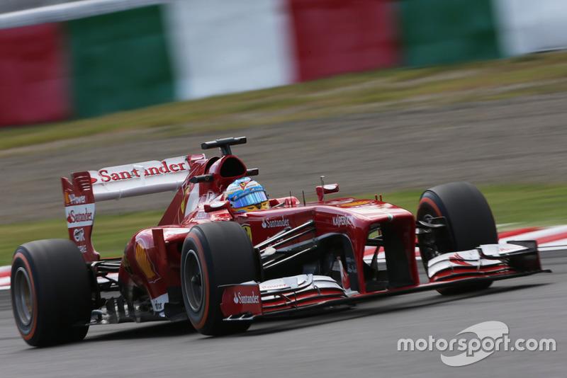 2013: Ferrari F138