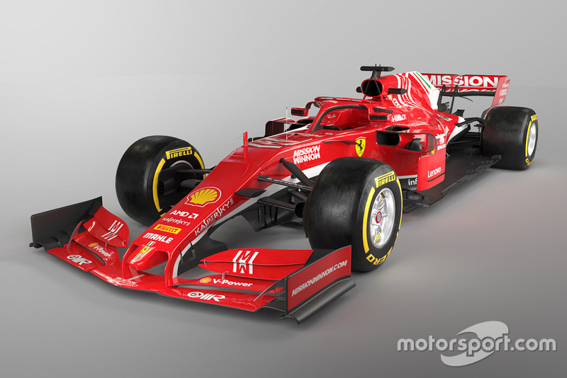 foto rendering ferrari f1 2019 eventi formula 1. Black Bedroom Furniture Sets. Home Design Ideas