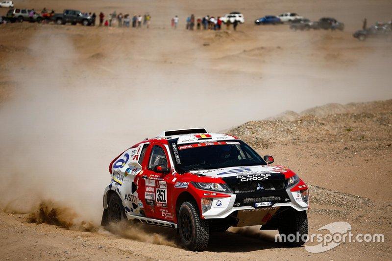 #351 Mitsubishi: Крістіна Гутьєррес, Пабло Морено Гуете