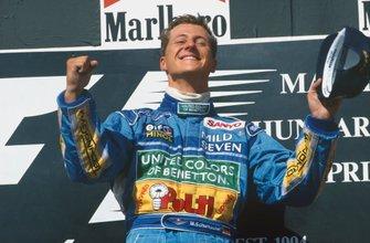 Victoire pour Michael Schumacher, Benetton B194