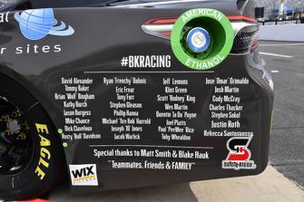 Blake Jones, BK Racing, Toyota Camry Tennessee XXX Moonshine