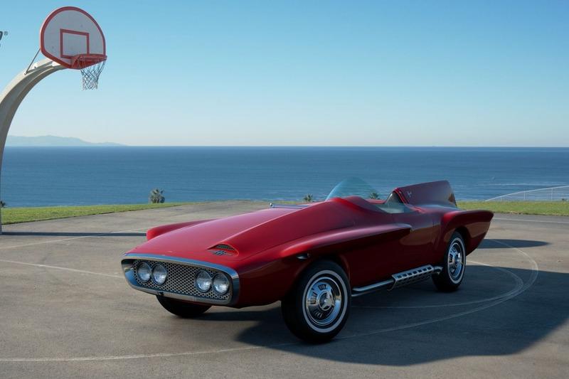 Plymouth XNR Ghia Roadster '60