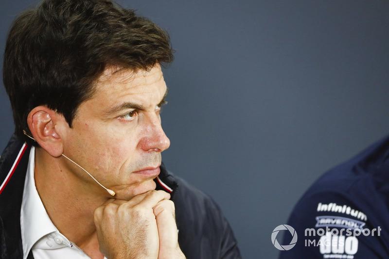Toto Wolff, Director Motorsport Mercedes AMG F1