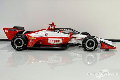 Tony Kanaan livery unveil