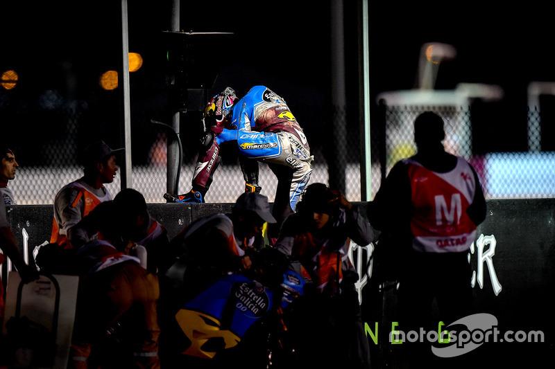 Choque; Jack Miller, Estrella Galicia 0,0 Marc VDS