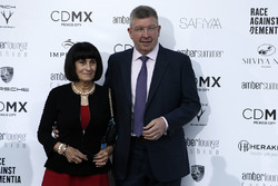 Ross Brawn, Formula One Managing Director of Motorsports and wife Rachel