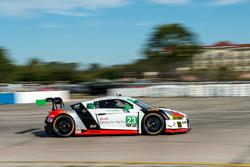 #23 Alex Job Racing, Audi R8 LMS GT3: Bill Sweedler, Townswend Bell, Frankie Montecalvo