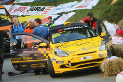 Denis Wolf,  Renault Clio RS III, Racing Team Zäziwil, Unfall