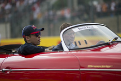 Daniil Kvyat, Scuderia Toro Rosso, on the drivers parade