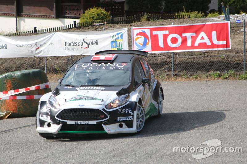 Ivan Ballinari, Paolo Pianca, Ford Fiesta R5, Lugano Racing Team