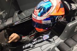 Romain Grosjean, Haas F1 Team VF-17 con el lema #BillyWhizz
