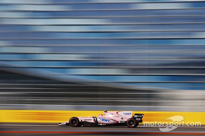 Esteban Ocon, Sahara Force India F1 VJM10