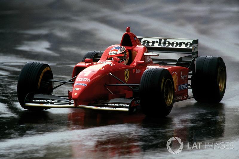 12. Mónaco 1996, Ferrari F310