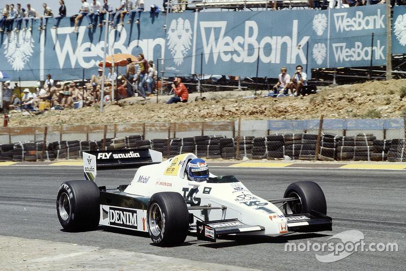 Keke Rosberg, Williams FW09, Honda