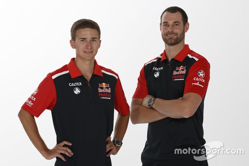 Matt Campbell and Shane van Gisbergen