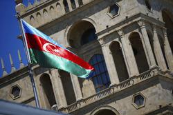 Flagge: Aserbaidschan