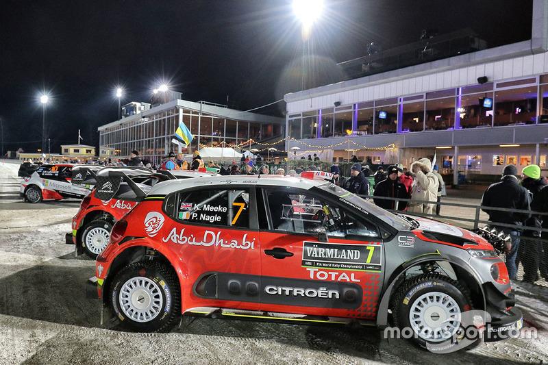Coche de Kris Meeke, Paul Nagle, Citroën C3 WRC, Citroën World Rally Team