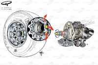 Видувна вісь, деталі колеса, Red Bull RB8