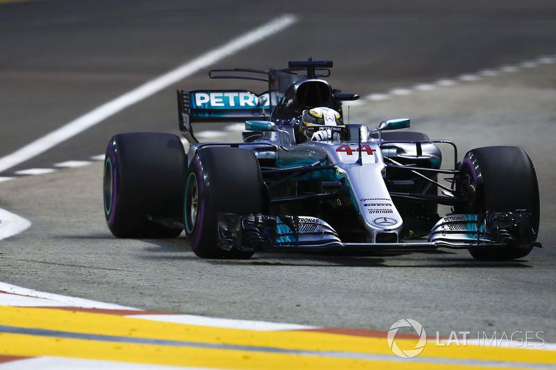 5. Lewis Hamilton, Mercedes AMG F1 W08