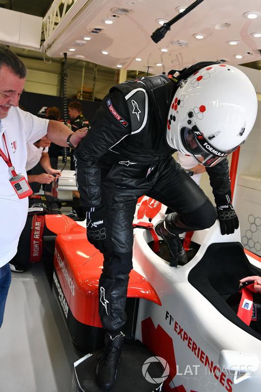 Paul Stoddart, Simon Lazenby, F1-Doppelsitzer