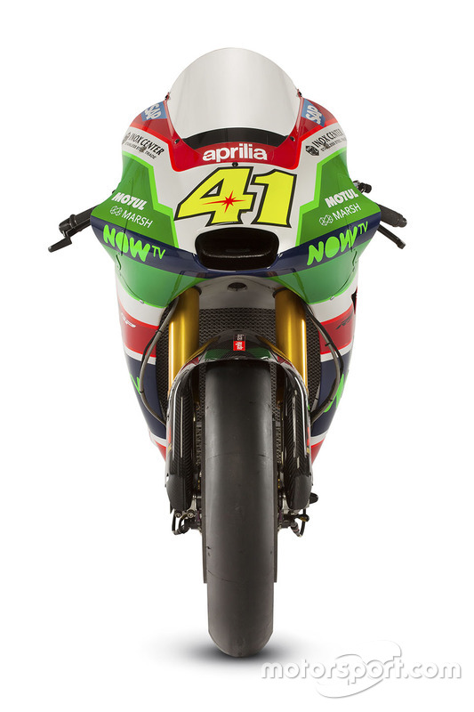 Мотоцикл Алейша Еспаргаро, Aprilia Racing Team Gresini