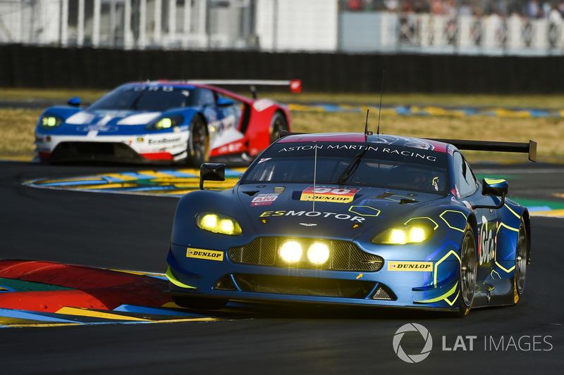 52. №90 TF Sport Aston Martin Vantage GTE: Салих Йолик, Юэн Хэнки, Роб Белл