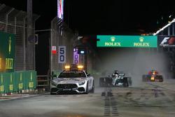 Автомобіль безпеки, Льюіс Хемілтон, Mercedes AMG F1 W08
