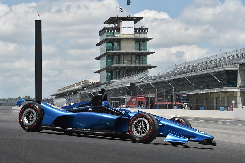 L'IndyCar 2018 à moteur Chevrolet