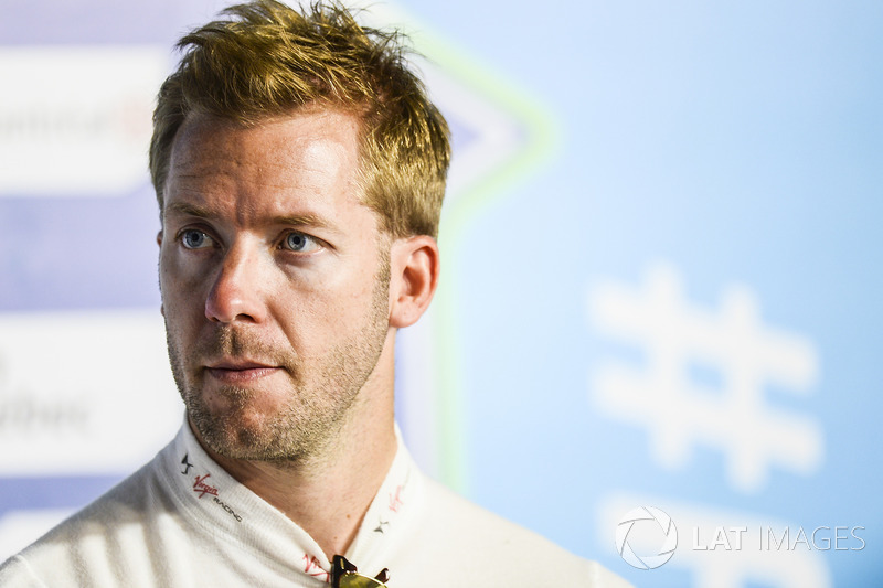 Sam Bird, DS Virgin Racing, en la conferencia de prensa