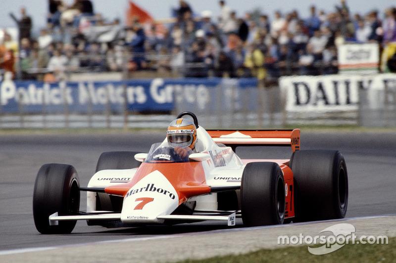 John Watson, McLaren MP4/1 Ford