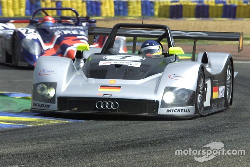 #7 Joest Racing Audi R8R: Мікеле Альборето
