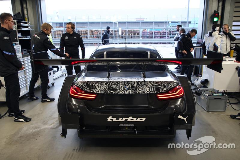 Bruno Spengler prueba el BMW M4 DTM Motor turbo de dos litros