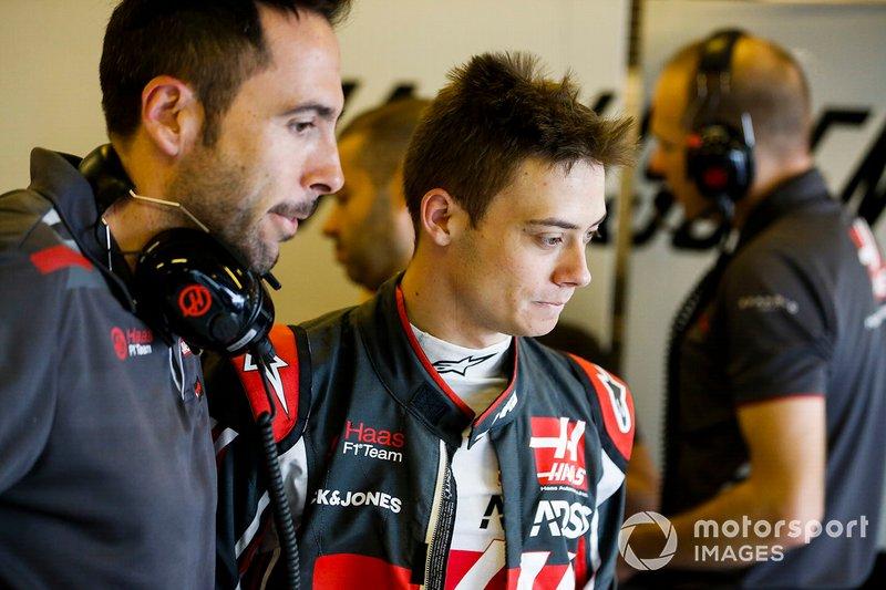 Louis Deletraz, collaudatore e pilota di sviluppo, Haas F1