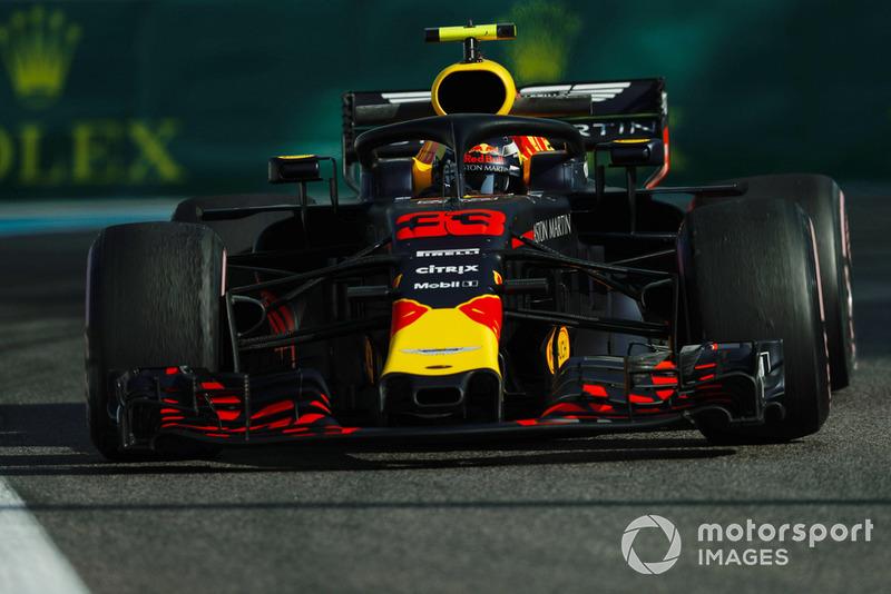 3 місце — Макс Ферстаппен, Red Bull. Умовний бал — 35,42