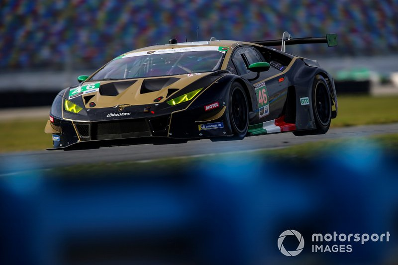 #46 EBIMOTORS Lamborghini Huracan GT3, GTD: Emanuele Busnelli, Fabio Babini, Marco Mapelli