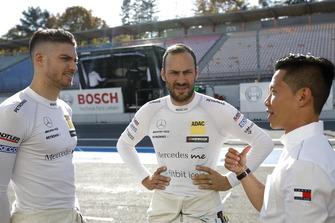 Edoardo Mortara, Mercedes-AMG Team HWA, Gary Paffett, Mercedes-AMG Team HWA