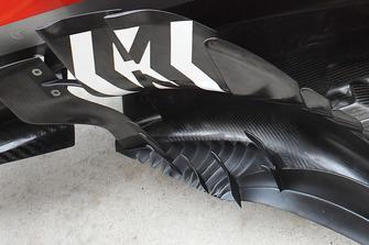 Vue détaillée d'un déflecteur de Ferrari SF71H