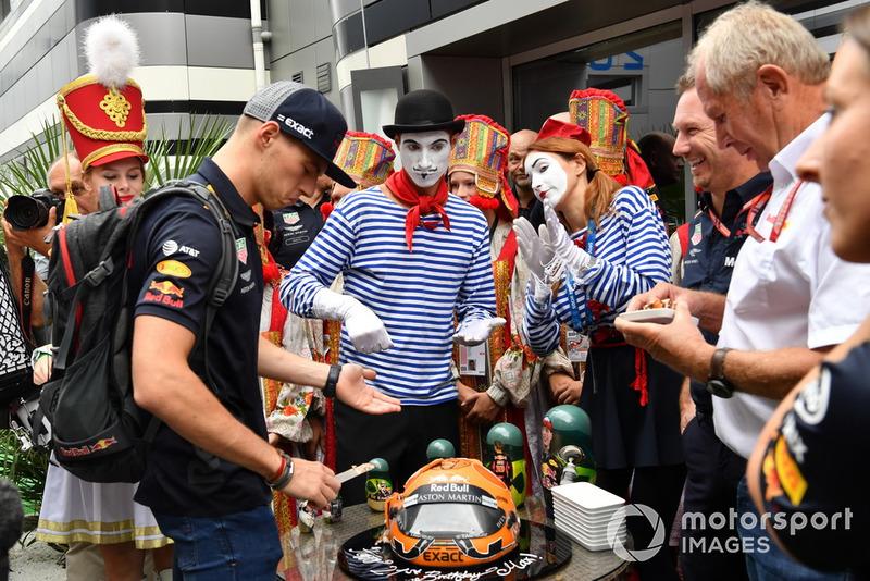 Suasana ulang tahun Max Verstappen, Red Bull Racing