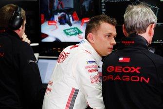 Maximilian Gunther, Dragon Racing dans le garage