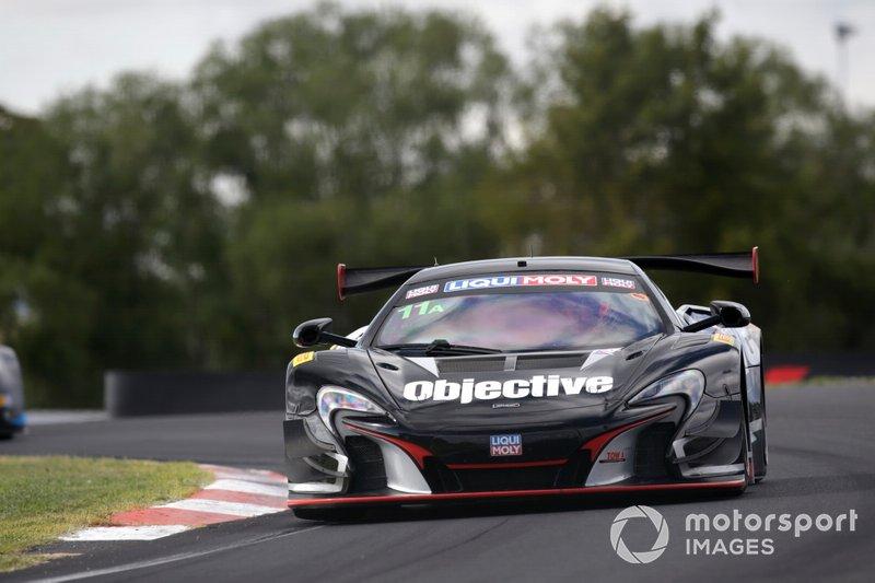 23. #11 Objective Racing McLaren 650S: Tony Walls, Warren Luff, Andrew Watson